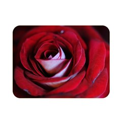 Red Rose Center Double Sided Flano Blanket (Mini)