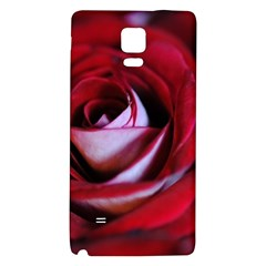 Red Rose Center Samsung Note 4 Hardshell Back Case