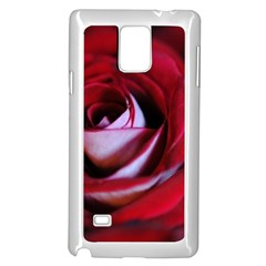 Red Rose Center Samsung Galaxy Note 4 Case (white)