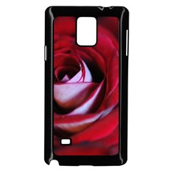 Red Rose Center Samsung Galaxy Note 4 Case (Black)