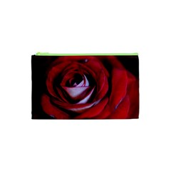 Red Rose Center Cosmetic Bag (XS)