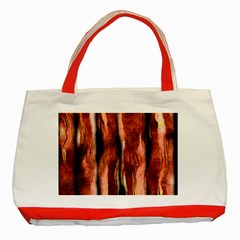 Bacon Classic Tote Bag (Red)