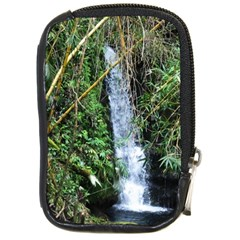 Bamboo Waterfall Compact Camera Leather Case
