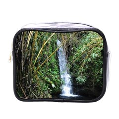 Bamboo Waterfall Mini Travel Toiletry Bag (one Side)