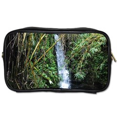 Bamboo Waterfall Travel Toiletry Bag (two Sides)
