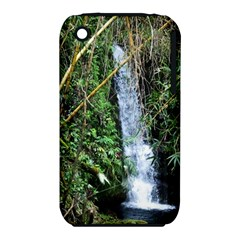 Bamboo waterfall Apple iPhone 3G/3GS Hardshell Case (PC+Silicone)