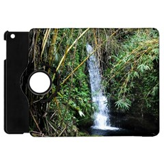Bamboo Waterfall Apple Ipad Mini Flip 360 Case