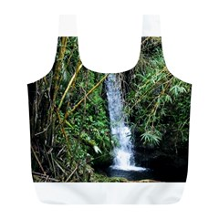 Bamboo waterfall Reusable Bag (L)