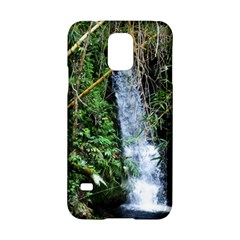Bamboo waterfall Samsung Galaxy S5 Hardshell Case