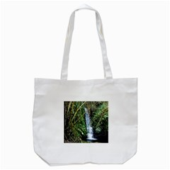 Bamboo waterfall Tote Bag (White)