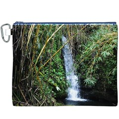 Bamboo Waterfall Canvas Cosmetic Bag (xxxl)