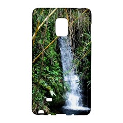 Bamboo Waterfall Samsung Galaxy Note Edge Hardshell Case