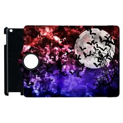 Bokeh Bats In Moonlight Apple Ipad 3/4 Flip 360 Case