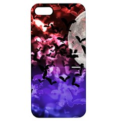 Bokeh Bats In Moonlight Apple Iphone 5 Hardshell Case With Stand