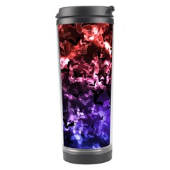 Bokeh Bats in Moonlight Travel Tumbler