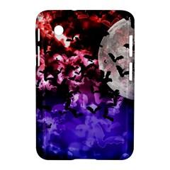 Bokeh Bats In Moonlight Samsung Galaxy Tab 2 (7 ) P3100 Hardshell Case