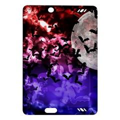Bokeh Bats in Moonlight Kindle Fire HD (2013) Hardshell Case