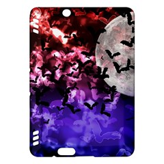 Bokeh Bats In Moonlight Kindle Fire Hdx Hardshell Case