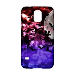 Bokeh Bats In Moonlight Samsung Galaxy S5 Hardshell Case