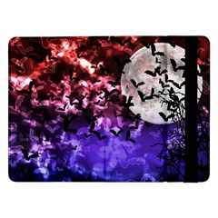 Bokeh Bats in Moonlight Samsung Galaxy Tab Pro 12.2  Flip Case