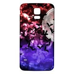 Bokeh Bats In Moonlight Samsung Galaxy S5 Back Case (white)