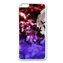 Bokeh Bats In Moonlight Apple Iphone 6 Plus Enamel White Case