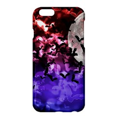 Bokeh Bats in Moonlight Apple iPhone 6 Plus Hardshell Case