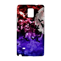 Bokeh Bats in Moonlight Samsung Galaxy Note 4 Hardshell Case