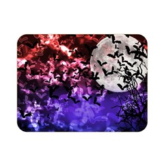 Bokeh Bats In Moonlight Double Sided Flano Blanket (mini)