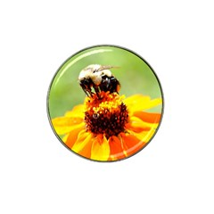 Bee On A Flower Golf Ball Marker (for Hat Clip)