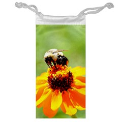 Bee On A Flower Jewelry Bag