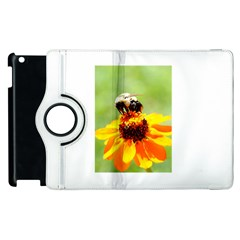 Bee on a Flower Apple iPad 2 Flip 360 Case