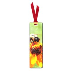 Bee On A Flower Small Bookmark