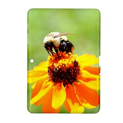 Bee on a Flower Samsung Galaxy Tab 2 (10.1 ) P5100 Hardshell Case