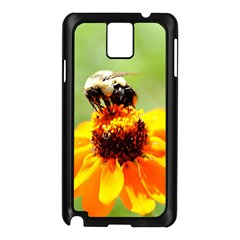 Bee On A Flower Samsung Galaxy Note 3 N9005 Case (black)