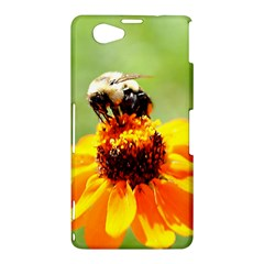 Bee on a Flower Sony Xperia Z1 Compact Hardshell Case