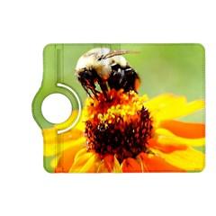 Bee On A Flower Kindle Fire Hd (2013) Flip 360 Case