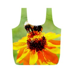 Bee on a Flower Reusable Bag (M)