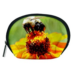 Bee on a Flower Accessory Pouch (Medium)