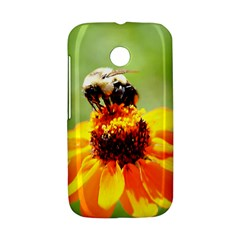 Bee on a Flower Motorola Moto E Hardshell Case