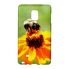 Bee on a Flower Samsung Galaxy Note Edge Hardshell Case
