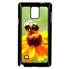 Bee on a Flower Samsung Galaxy Note 4 Case (Black)