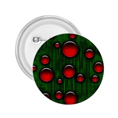 Geek Binary Digital Christmas 2 25  Button