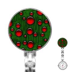 Geek Binary Digital Christmas Stainless Steel Nurses Watch