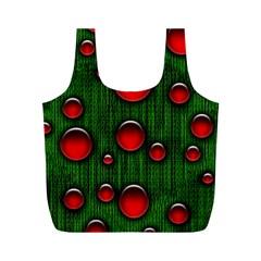 Geek Binary Digital Christmas Reusable Bag (M)