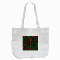 Geek Binary Digital Christmas Tote Bag (white)
