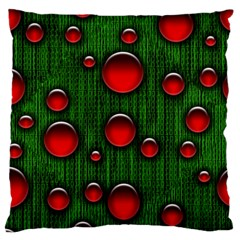 Geek Binary Digital Christmas Large Flano Cushion Case (Two Sides)