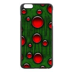 Geek Binary Digital Christmas Apple iPhone 6 Plus Black Enamel Case