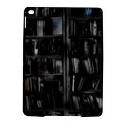 Black White Book Shelves Apple iPad Air 2 Hardshell Case