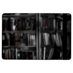 Black White Book Shelves Apple Ipad Air 2 Flip Case